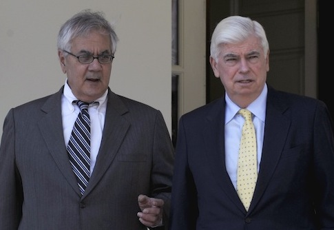 Barney Frank, Chirstopher Dodd / AP