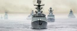 Chinese naval fleet / AP