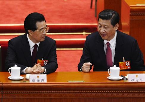 Hu Jintao, Xi Jinping / AP