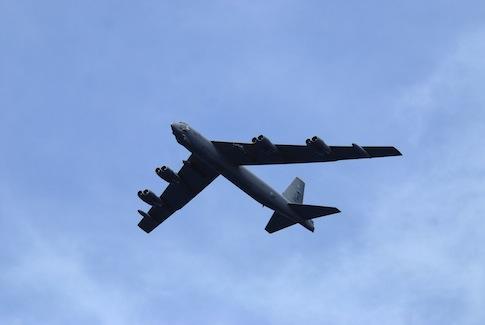 US Military B-52 Bomber