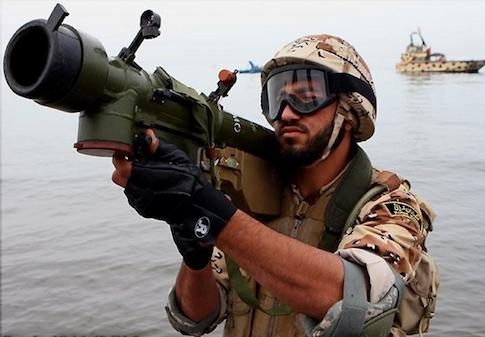 Iranian Misagh shoulder-fired missile system