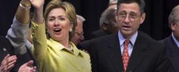 Hillary Clinton with Sheldon Silver / AP