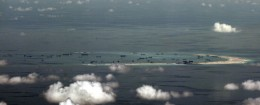 Chinese reclamation in progress on Mischief Reef in the Spratly Islands / AP