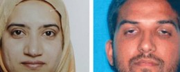 'Tashfeen Malik and Syed Farook / AP' from the web at 'http://s1.freebeacon.com/up/2015/12/Tashfeen-Malik-and-Syed-Farook--260x105.jpg'