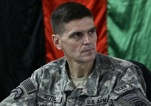 Gen. Joseph Votel in Afghanistan in 2007 / AP