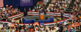 Mike Pence speaks at a rally in Purcellville, Virginia on August 27, 2016 / Mike Pence Twitter