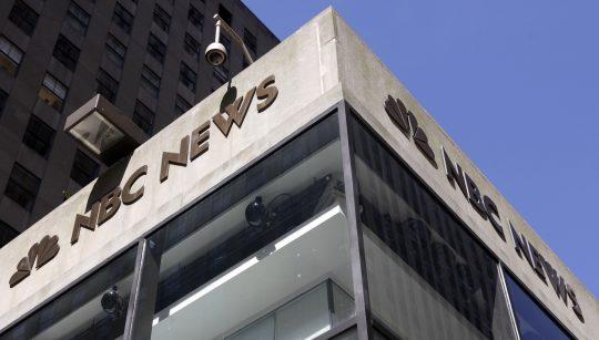 NBC News building / AP