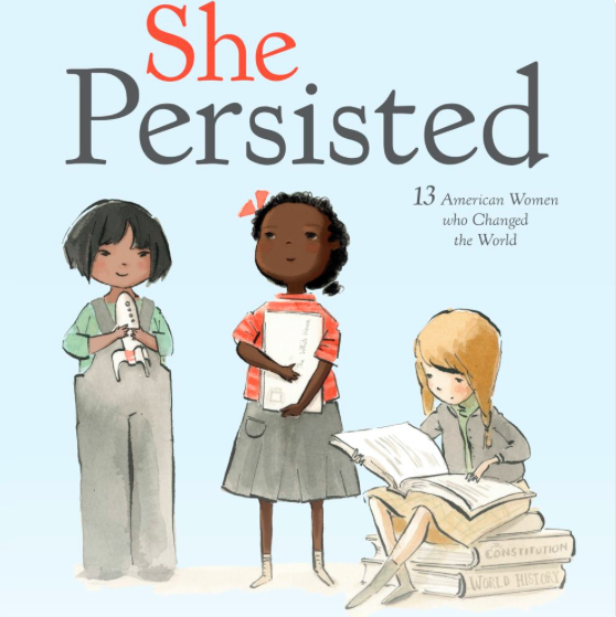 'She Persisted': Chelsea Clinton writes children's book about American women