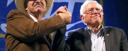 Rob Quist and Sen. Bernie Sanders