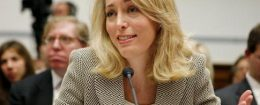 Former CIA agent Valerie Plame Wilson testifies before the House Oversight and Government Reform Committee March 16, 2007 in Washington, DC. The committee is investigating whether White House officials followed appropriate procedures for safeguarding the identity of the former CIA agent. / Getty Images