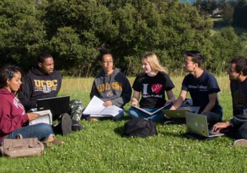 """Students at UC Santa Cruz, one of the universities that circulated the """"microaggressions"""" list / Facebook"""