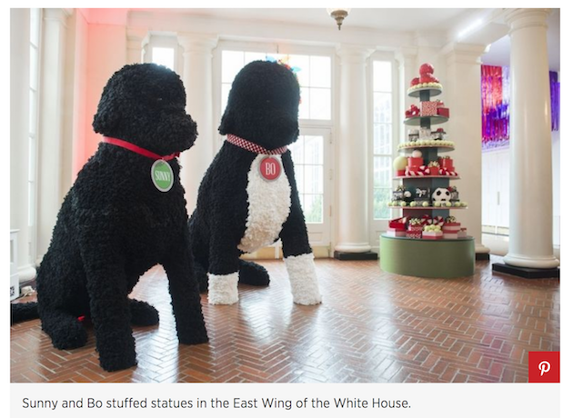 Fashion media attack melania over white house christmas for Sia home fashion christmas decorations